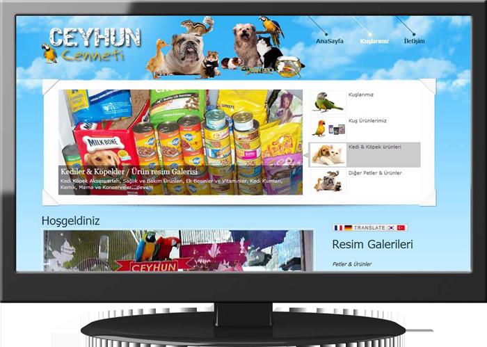 Petshop Website