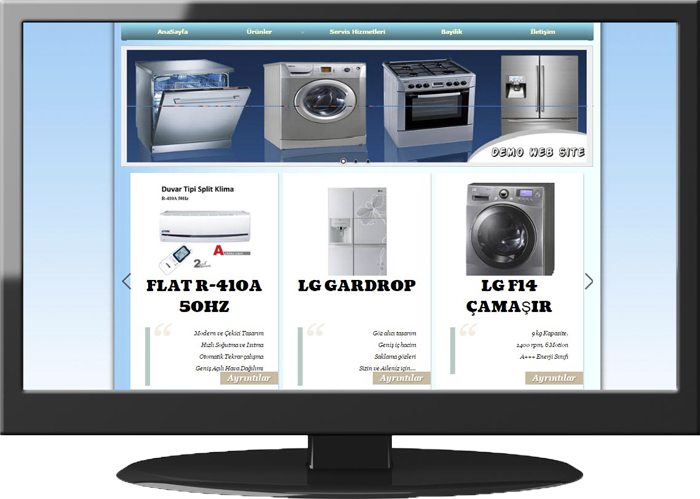 Household Appliances & Air Conditioning Website