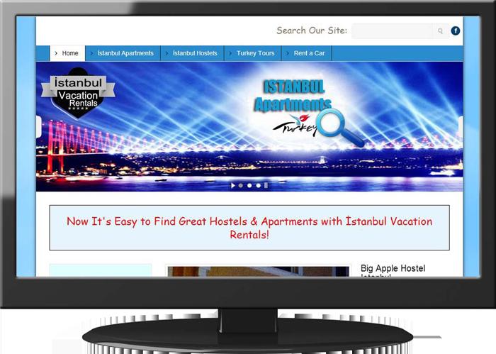 İstanbul Vacation - Tur ve Konaklama Web design