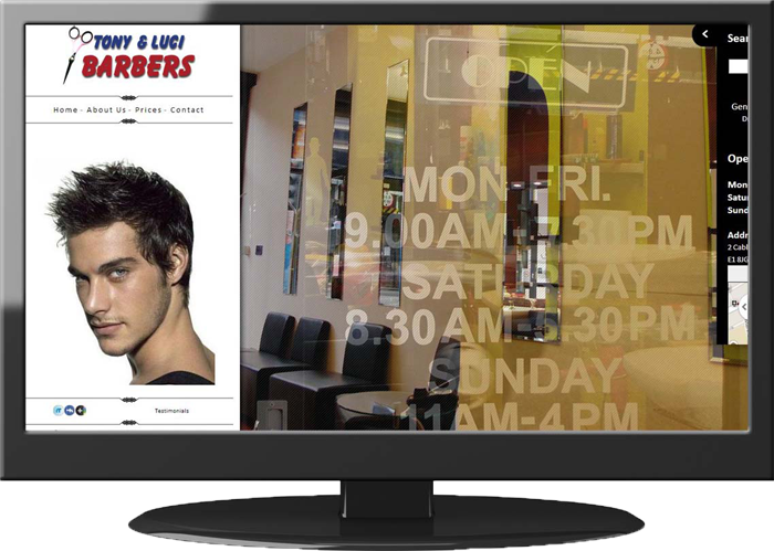 Tony Luci -  Web Design
