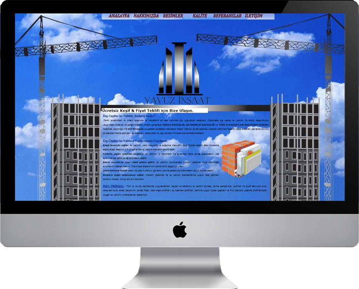 Yavuz İzolasyon- Construction Website
